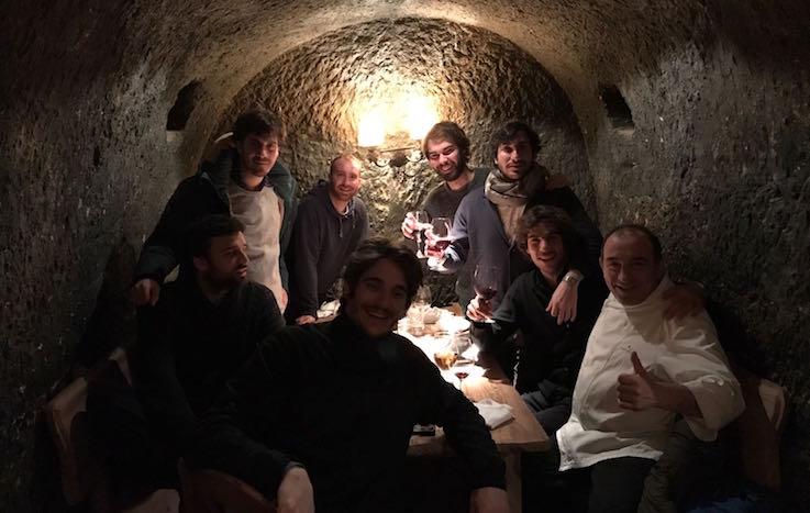 6 - Disfrutando junto a José Gordón, chef y propietario del restaurante