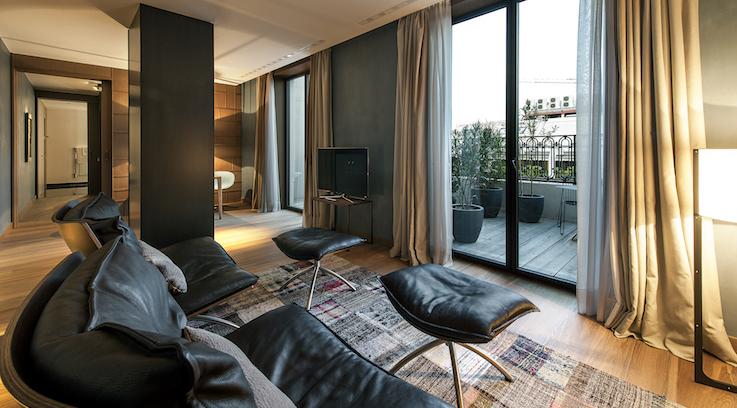 Suite Alma Living Room